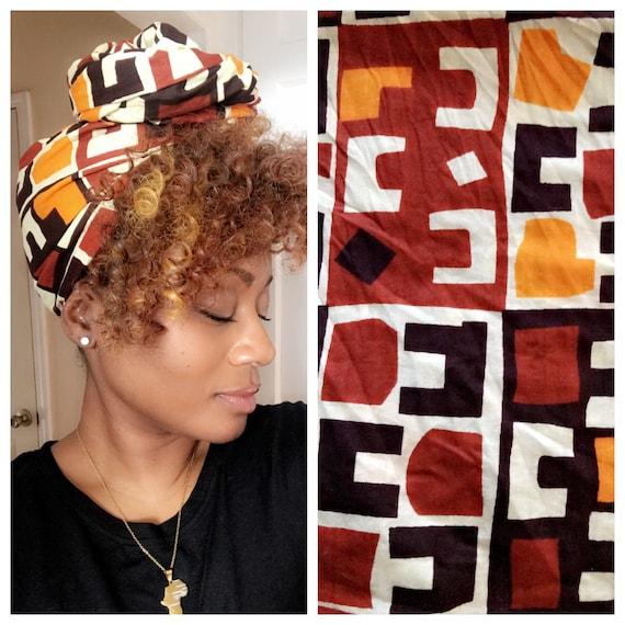 "Headwrap ""Hut"" wrap"