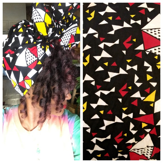 "Head wrap ""House Party"" wrap"