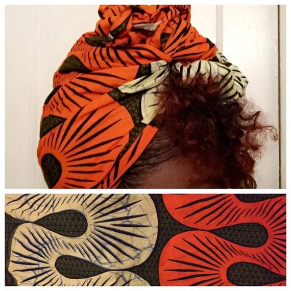 "The ""Cobra"" hair wrap"