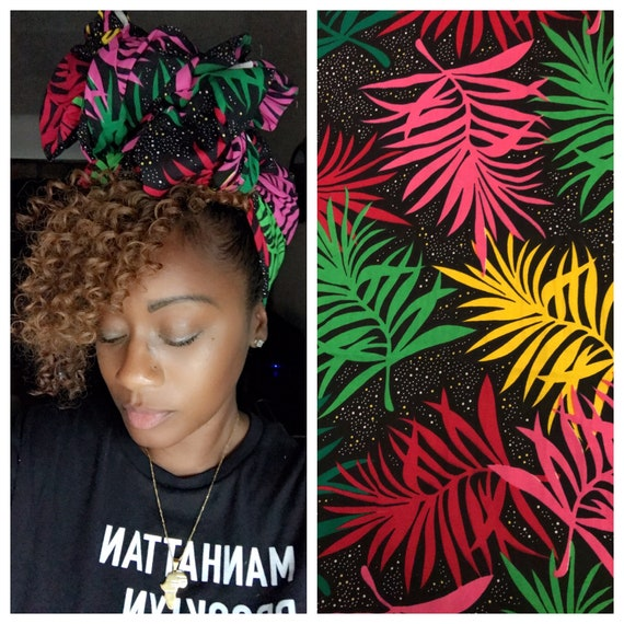 """The """"colorful Palm"""" wrap"""