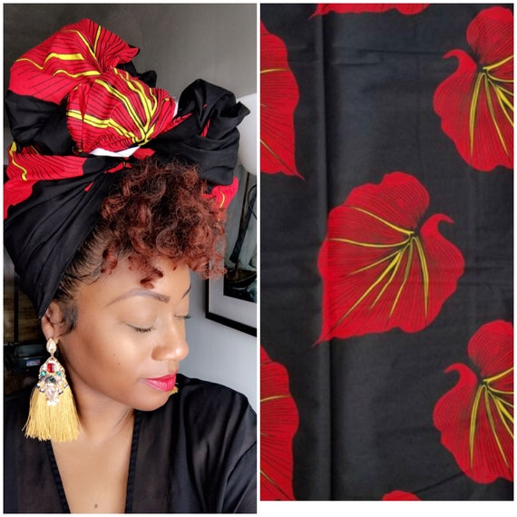 "Head wrap ""Summer Nights"""