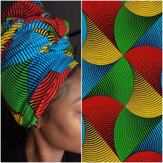 "Head wrap ""Rainbow"""