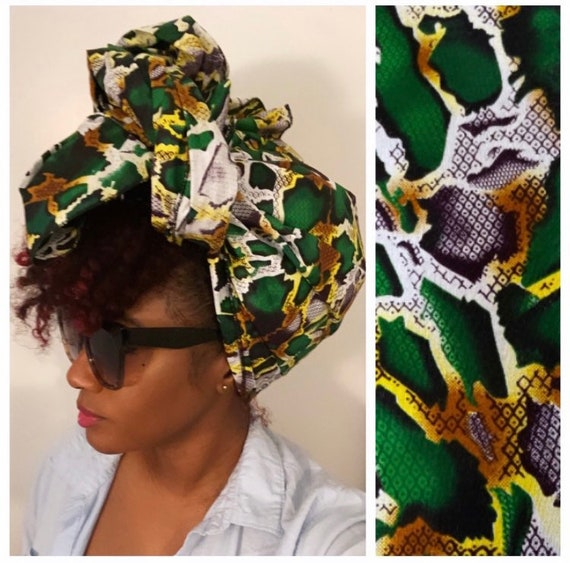 """The """"Green Snake"""" wrap"""