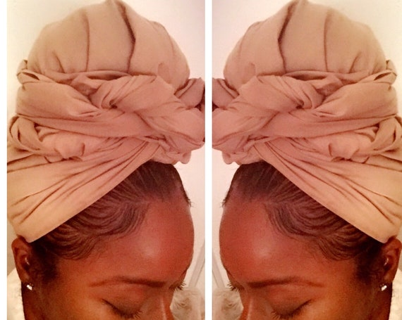 "The ""Nude Solid"" Hair wrap"