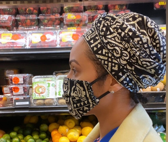 Wrap & Filter Mask set (Tribal)