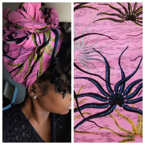 "Head wrap ""Jelly Fish"""