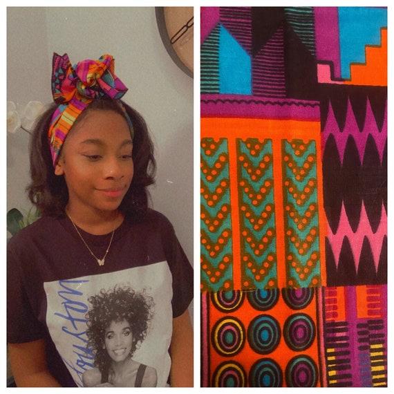 """The """"Pocket Size""""  Wrap n Go headband wrap (Barbie)"""