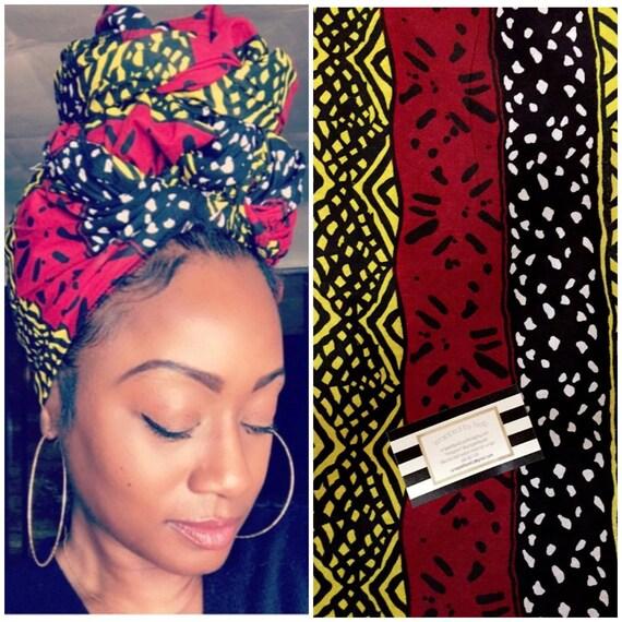 """The """"Nile"""" hair wrap"""