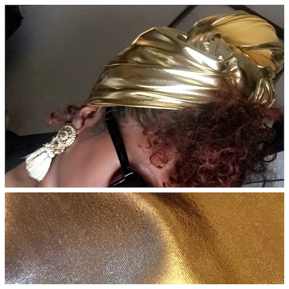 "The ""Sun""  Spandex hair wrap"
