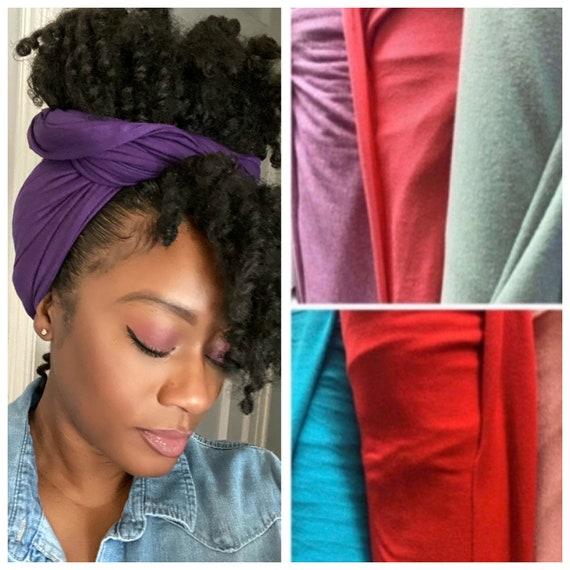 "The ""Stretchy"" wrap (purple)"
