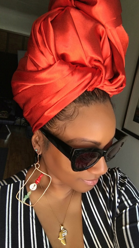 "Head wrap ""Satin"""