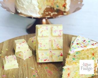 Birthday Cake Fudge Bar
