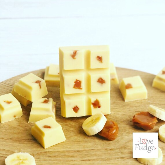 Banoffee Fudge Bar Gift For Vegetarian Edible Sweet