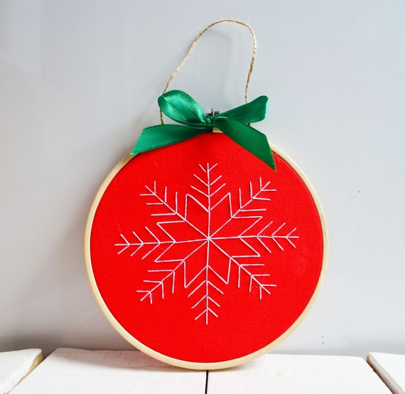 image 0 - Embroidered Christmas Ornaments