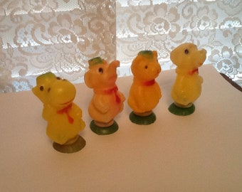 Animal Candy Containers HFC Barnes 1972 Lot of 4