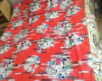 Mickey duvet cover set (bed 1 person)