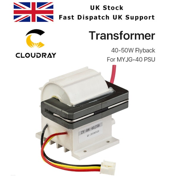 Flyback Transformer CO2 Laser Cutter Power Supply MYJG-40W MYJG-40T K40  Cloudray FB06M40A