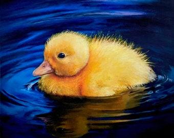 Duckling original painting