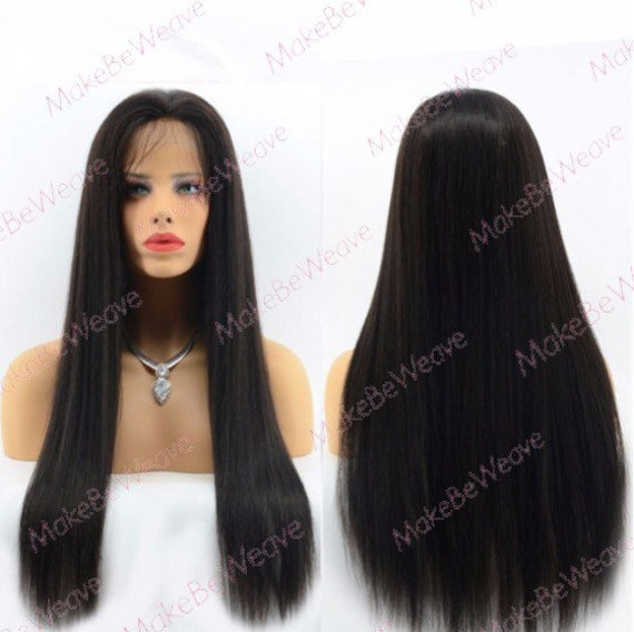 Custom 100 Brazillian Remy Human Hair Full Lace Wig Superior Etsy