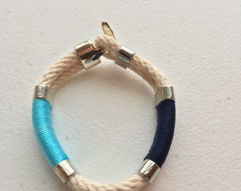 "8"" Nautical Rope Bracelet"