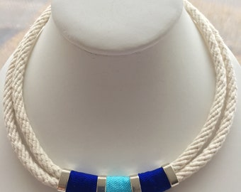 "17 "" nautical rope necklace"