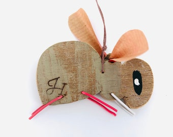 Wooden bee, in reclaimed materials. Part of my JaneHCreations collection of wooden animals and insects