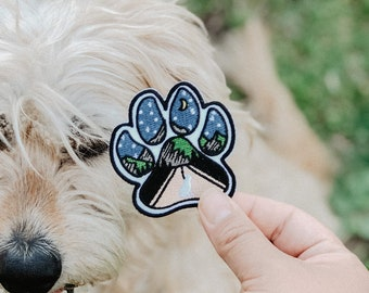 """3/"""" x 3 1//4/"""" inches Norfolk Terrier Dog Breed Embroidery Patch"""