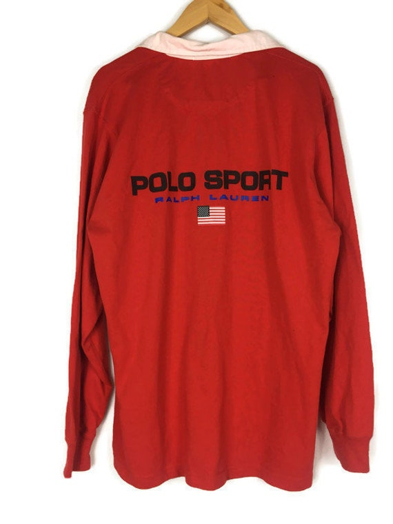 Vintage Polo Sport Rugby Spell Out / Polo Sport RL