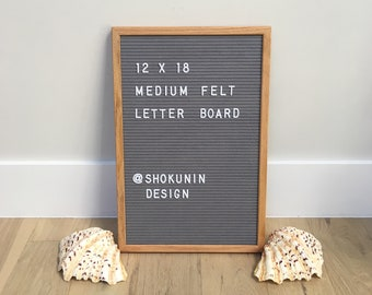felt letter board 12 by 18 for wedding decor event planning house warming gift inspiration menu display baby shower and much more