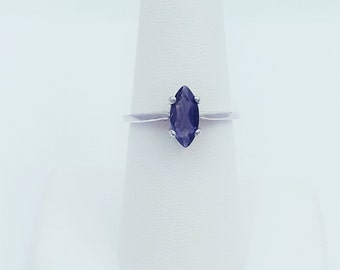 Sterling Silver Iolite Ring