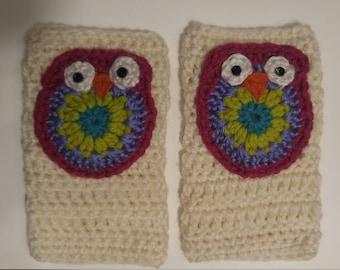 Heavyweight Owl Handwarmers