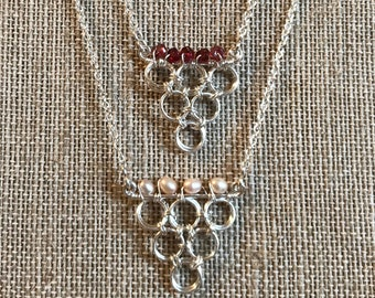 Chainmaille Chatelaine Chain Mail Sterling Silver Chatelaine