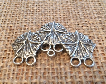 Pineapple Skin Chatelaine, Hand Sewing Chatelaine, Quilters Chatelaine for Sewing, Sterling Silver Chatelaine, Sewing Tools for Quilters