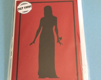 Carrie (1976) Horror Greeting Card