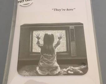 Poltergeist Greeting Card