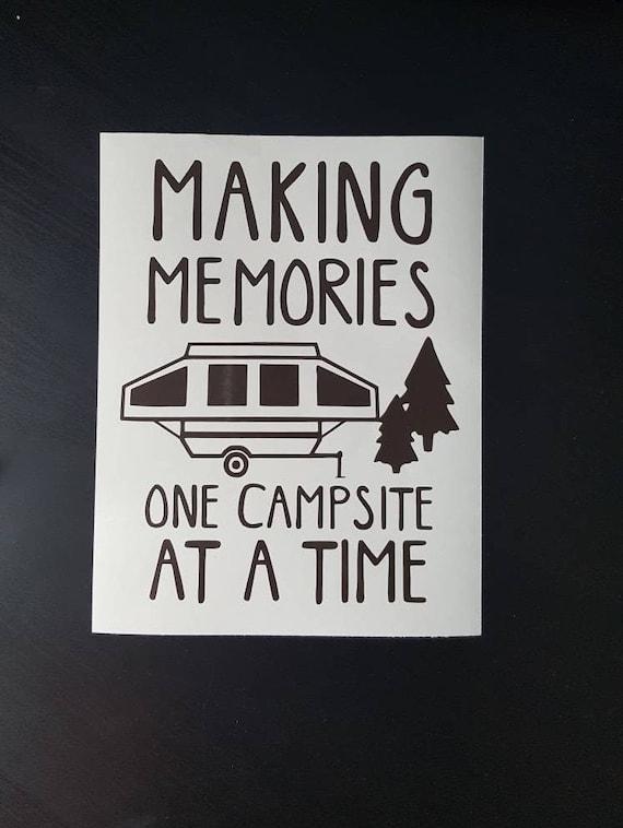 Caravan Sticker Making Memories Motorhome Campervan Truck Decal