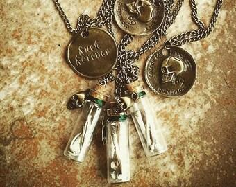 Catacomb vial necklaces
