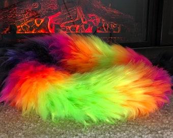 32 inch Neon Cheshire Yarntail