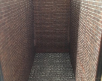 Pre Cut Diorama Booknook Walls
