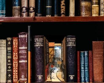 The Shambles (York, England) Booknook  Diorama