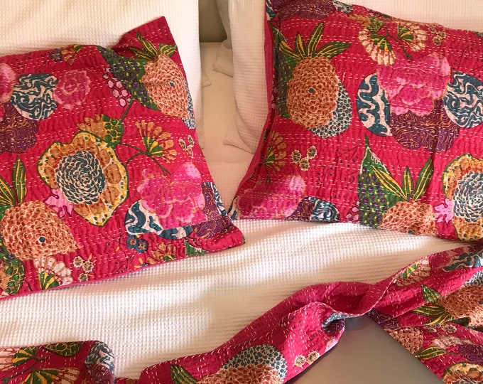 The Floral • Pink • Pillowcase