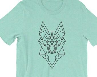 wolf - wolf shirt - wolf tshirt - worlf print - wolf art - wolf design - wolf decal - silver wolf - wolf tee