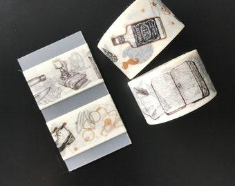 Vintage Drawings Washi Tape