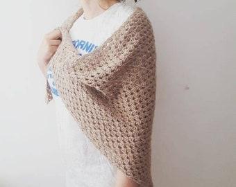Handmade shawl; shawl baby alpaca; scarf alpaca; crochet shawl; crochet scarf; handmade crochet shawl; scarve handmade alpaca; scarve