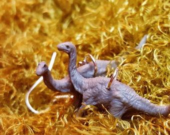 Apatosaurus Dangle Earrings