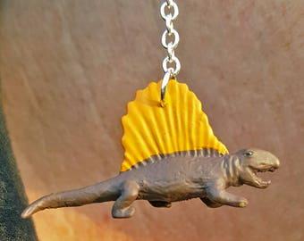 Dimetrodon Dangle Earrings