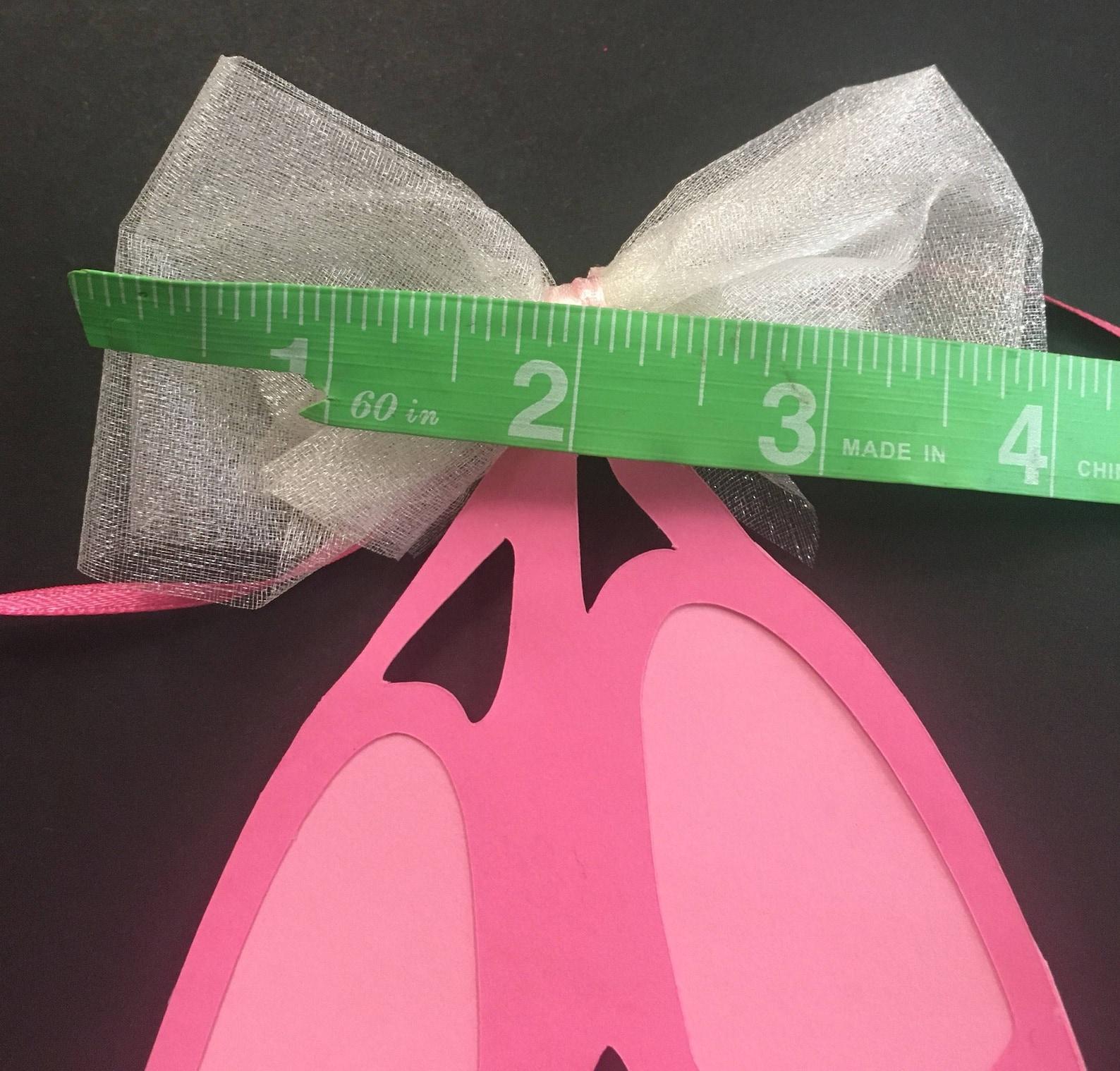 ballerina slipper banner ballet dancer shoes birthday party photo cake smash photography sign dancer tutu bow dancing dainty mus