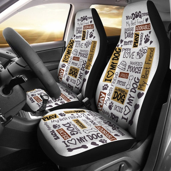 Best Car Seat Covers >> Dog Quotes Car Seat Covers Best Car Seat Covers Dog Lovers Car Decor Dogs Puppy I Love Dogs Custom Print Car Seats Dog Dad Dog Mom