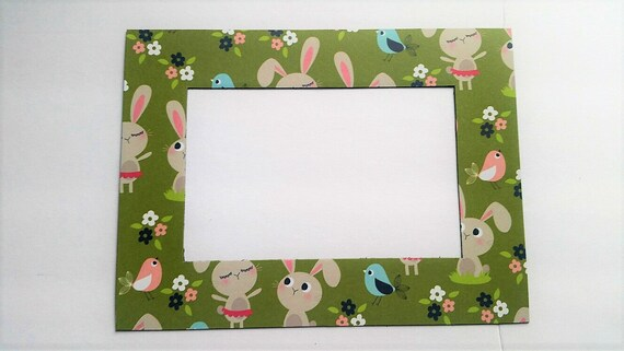 Bunny Magnetic Refrigerator Photo Frame Magnet Fits A Etsy