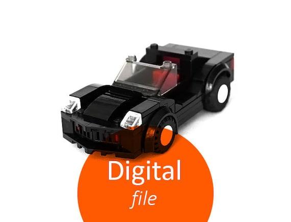 Guide digital download Car for kids Gift for boy car instruction LEGO gift  for son Lego building instructions Custom Lego instruction